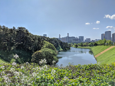 Imperial Palace east moat