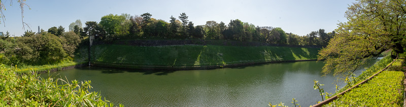 Imperial Palace east wall (panorama)