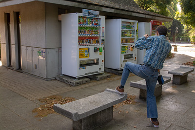 Linus photographs vending machines