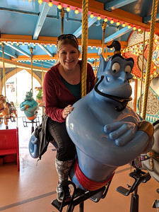 Getting a ride from Genie