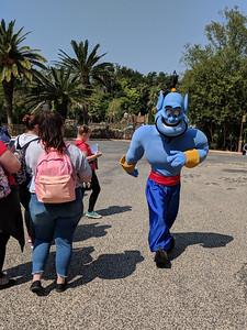 Genie makes an appearance