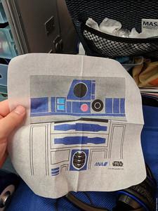 Star Wars napkin