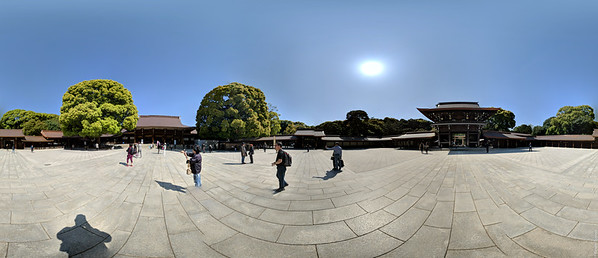 Meji Shrine (panorama)