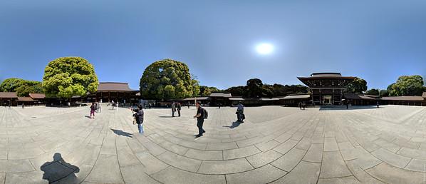 Meji Shrine (panorama)