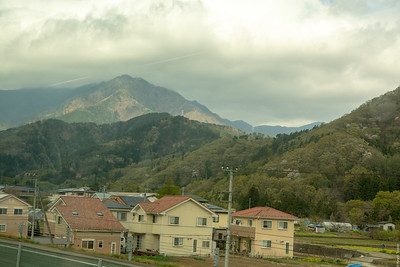 On the way to Mt. Fuji