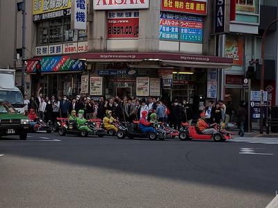 Go-Karts in Akihabara