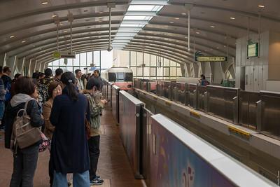 Tokyo Disneyland monorail!