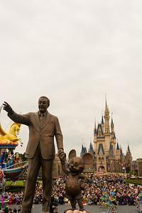 Walt and Mickey at Tokyo