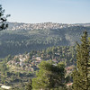 As we walked along the ridge top, a break in the forest offered panoramic views of the communities located in the surrounding valleys and on the hills