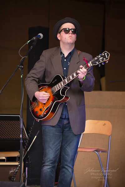 Carson Mallon, Chemainus Blues Festival, July 7 2018