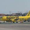 Spirit Airlines Airbus A319 N535NK at Los Angeles International Airport, 06.07.2018.