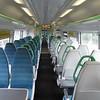 Southern Class 377 Electrostar no. 377618 interior at Tattenham Corner on a London Bridge service, 17.07.2018.