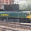 Freightliner Class 66 no. 66553 stabled outside London Paddington, 07.07.2018.