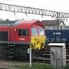 "DB Cargo Class 59 no. 59206 ""John F Yeoman"" at Willesden Yard, 17.07.2018."
