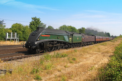 60009 Worting Junction 26/07/18 1Y50 London Victoria to Weymouth with 47760 (47580 was on the rear)