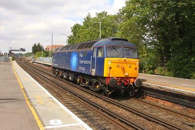 47813 Basingstoke 25/07/18 0Z72 Eastleigh to Wembley