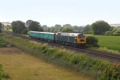 47727 Little Langford 16/07/18 5Z47 Doncaster to Eastleigh