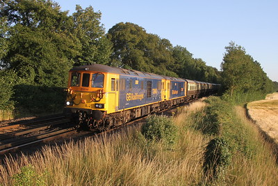 73963 Micheldever 14/07/18 1Z41 Weymouth to Stevenage with 73961