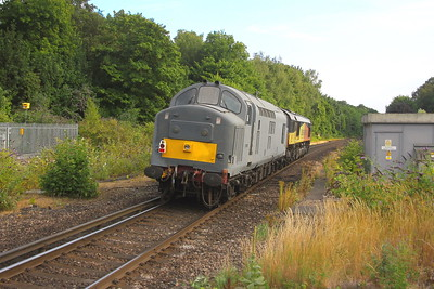 37901 Micheldever 26/07/18 0Z90 St Leonards to Eastleigh led by 66846