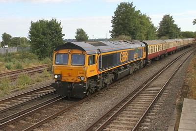 66741 Eastleigh 22/07/18 5Z57 Cardiff to Eastleigh