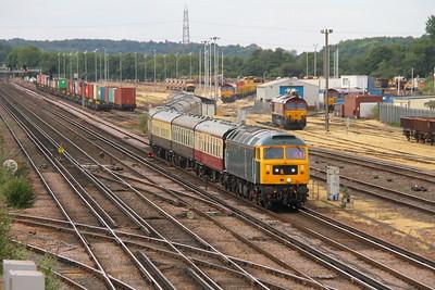 47727 Eastleigh 22/07/18 5Z57 Cardiff to Eastleigh