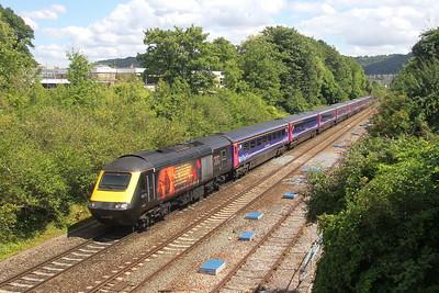 43172 Bath 31/07/18 on the rear of 1A19 Paignton to London Paddington