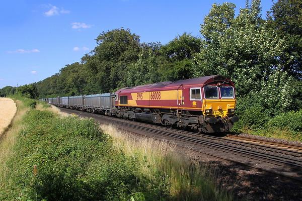 66008 Micheldever 15/07/18 4Y19 Mountfield to Southampton Western Docks