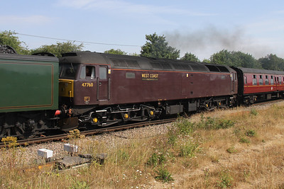 47760 Worting Junction 26/07/18 1Y50 London Victoria to Weymouth