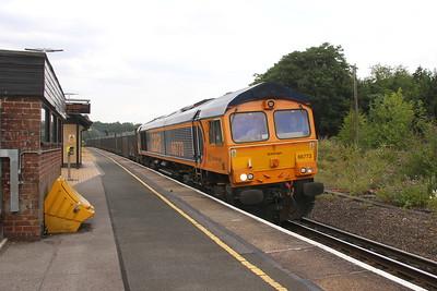 66773 Micheldever 19/07/18 4Y19 Mountfield to Southampton Western Docks