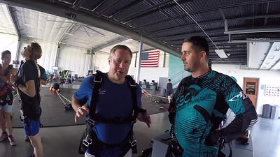 1111 Tim Lewarchick  Skydive at Chicagoland Skydiving Center 20180616 Tim Chris W