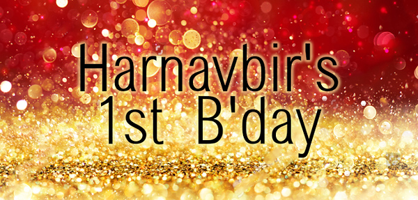 2018-06-30 Harnavbir's 1st B'day