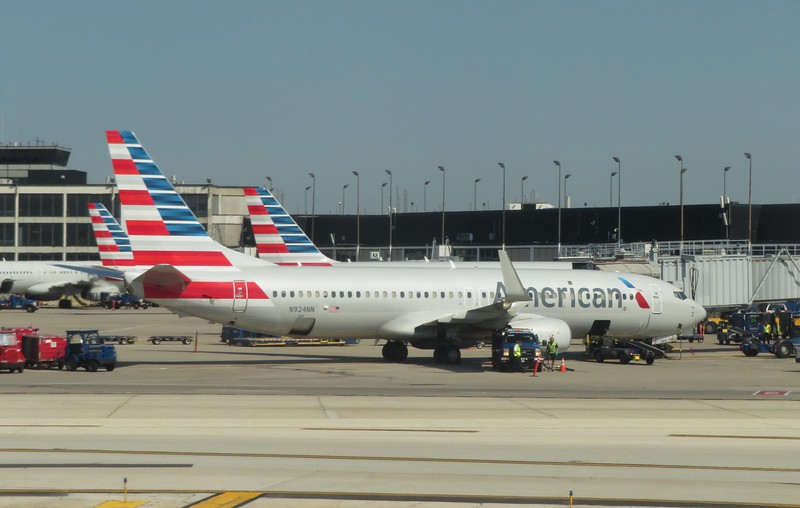 American Airlines Boeing 737-800 N924NN at Chicago O'Haire, 29.06.2018.