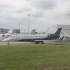Air X Charter Embraer Legacy 600 ERJ-135 9H-KAP at London Luton Airport, 13.06.2018.