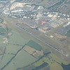Luton Airport seen from American Airlines flight AA99 from London Heathrow to Chicago, 29.06.2018.