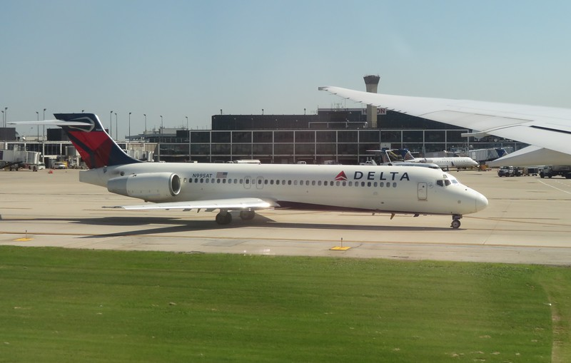 Delta Airlines Boeing 717 N995AT at Chicago O'Haire Airport, 29.06.2018.