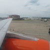 Flying from London Luton to Stockholm Arlanda on EasyJet Airbus A319 OE-LQR, 13.06.2018.