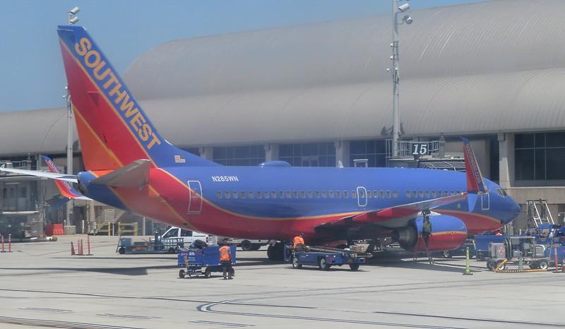 SouthWest Airlines Boeing 737-700 N285WN at John Wayne Orange County Airport, 29.06.2018.