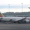 Ethiopian Airlines Boeing 787 Dreamliner ET-AUP at Stockholm Arlanda Airport between Addis Ababa services, 13.06.2018.