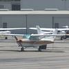 Cessna 172 at John Wayne Orange County Airport, 29.06.2018.