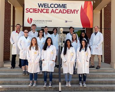 2018 Gardner-Webb University Science Academy participants