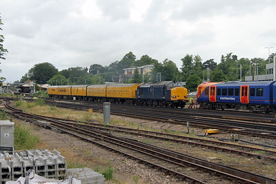 37612 Basingstoke 17/06/18 3Z90 Reading Triangle Sidings to Woking