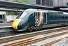 12 June 2018 :: A closer look at the new GWR rainbow stripes on 800 008