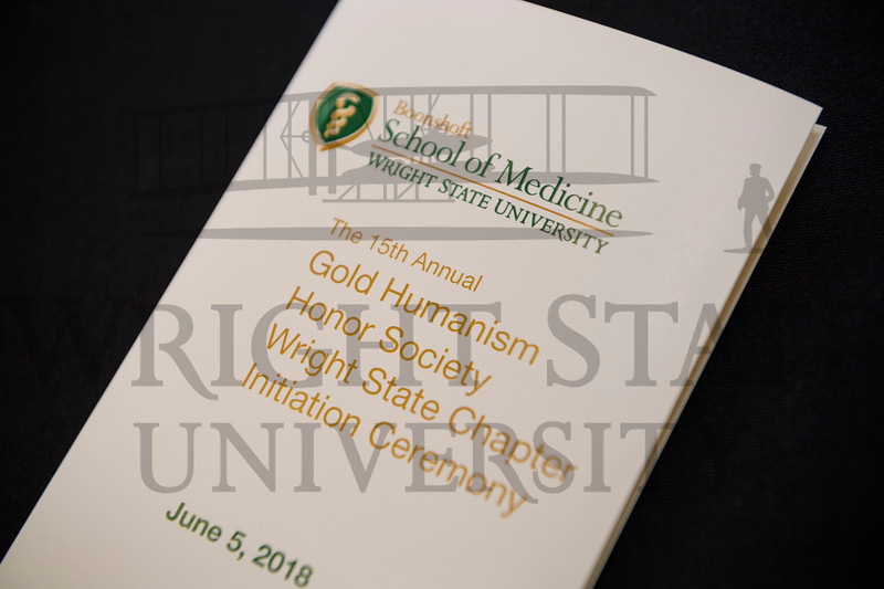 20201 Teresa Rickey, Gold Humanism Honor Society Ceremony 6-5-18