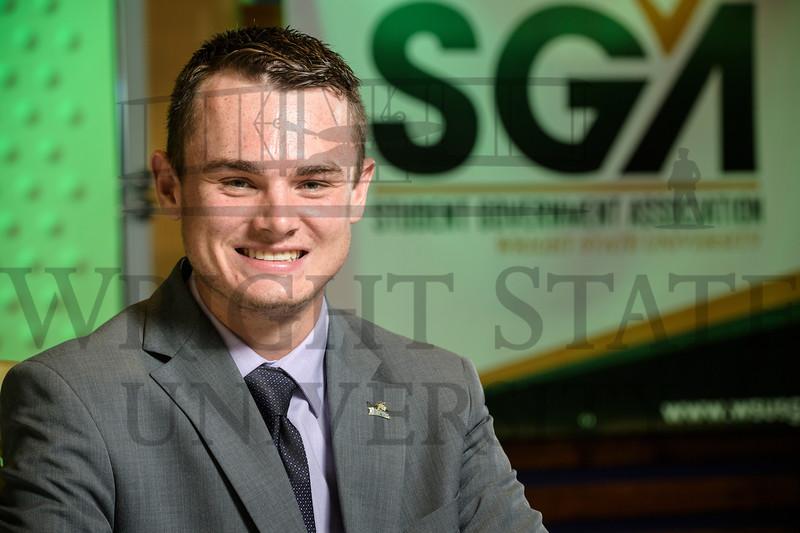 20245 Micha Karr, Daniel Palmer SGA President 6-19-18