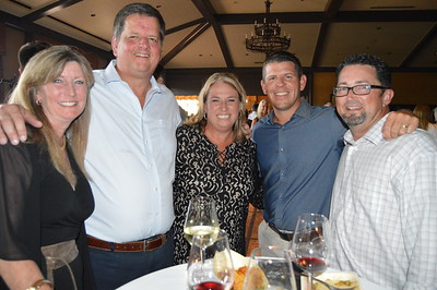 Pam and Mike Muldoon with Jessica Young, Brent Martineau and Mike Young