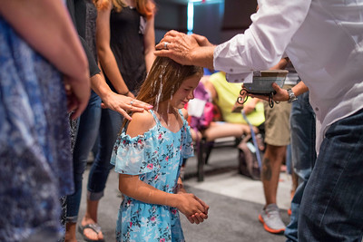 June 2018 New Members and Baptisms
