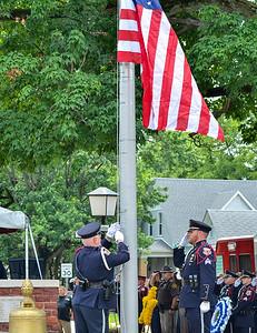 MET 061018 Flag Raise