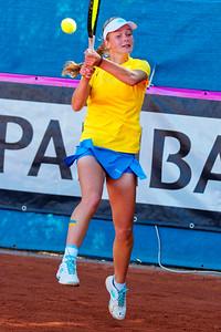 01.02b Lyubov Kostenko - Team Ukraine - Junior Davis and Fed Cup Finals 2018