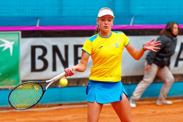 01.02 Lyubov Kostenko - Team Ukraine - Junior Davis and Fed Cup Finals 2018
