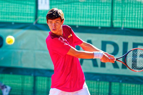01.03f Mario Gonzalez Fernandez - Team Spain - Junior Davis and Fed Cup Finals 2018